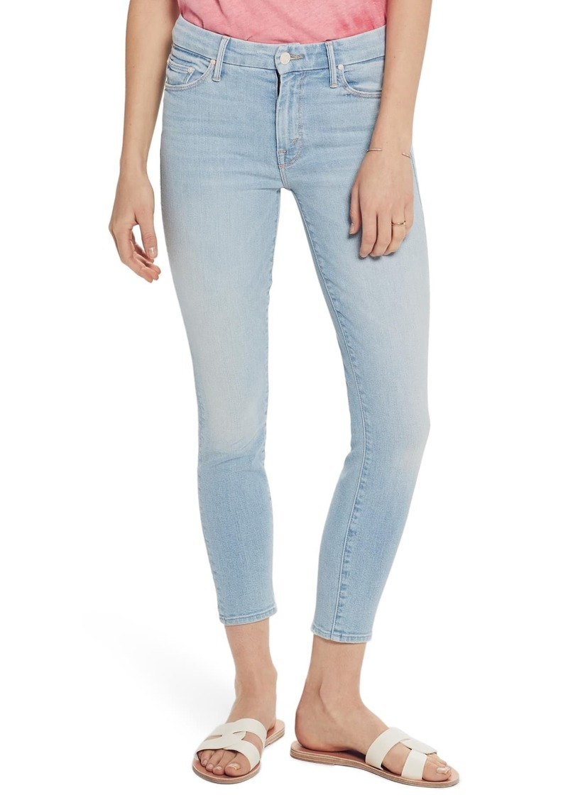 Mother Denim The Looker High Waist Ankle Skinny Jeans