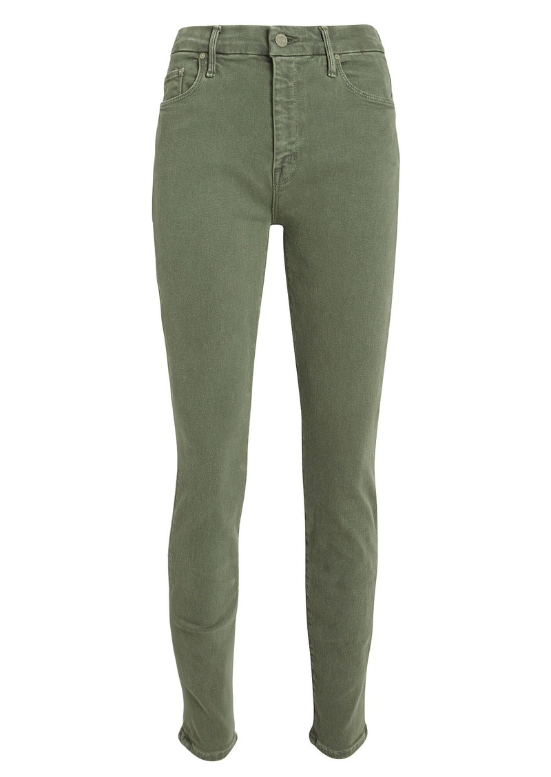 Mother Denim The Looker High-Waist Skinny Jeans
