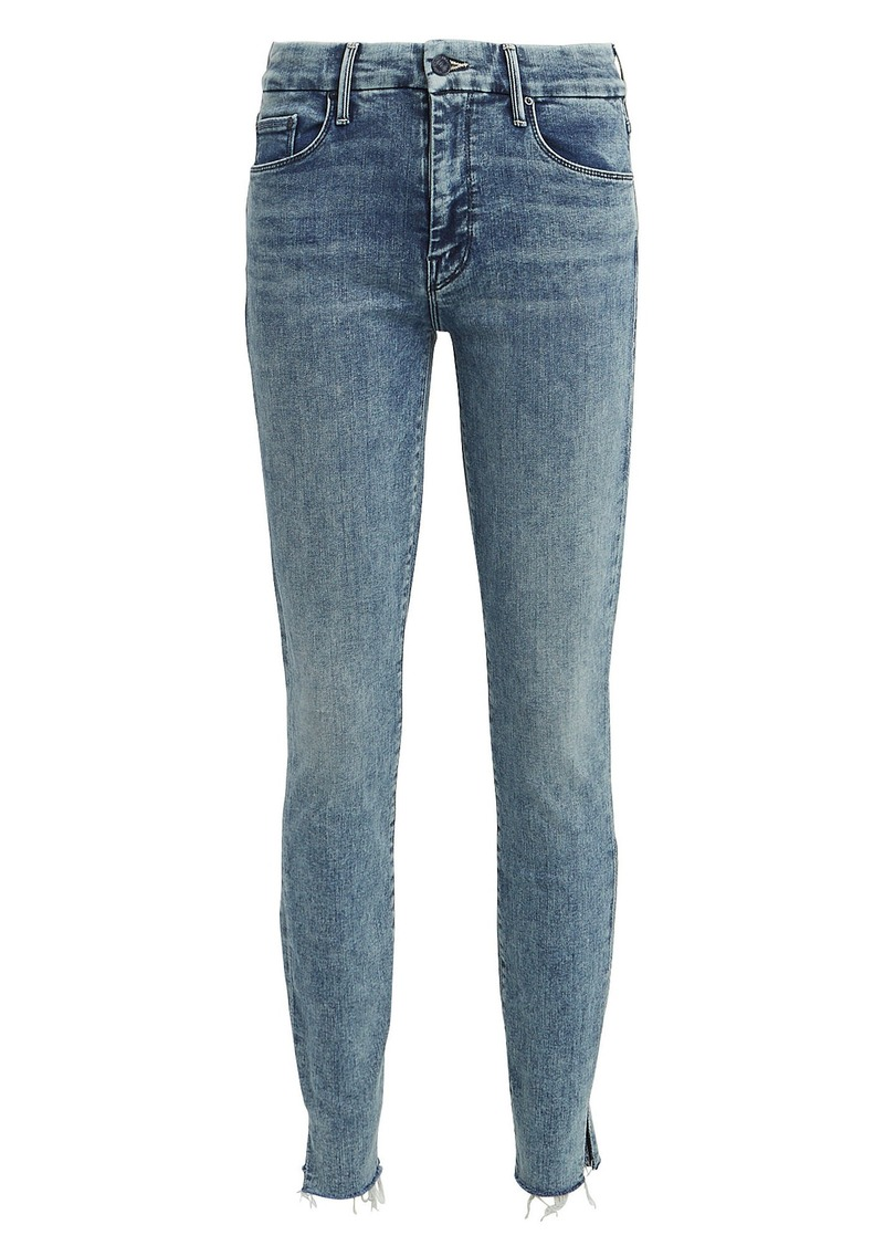 Mother Denim The Looker Sacred Slit Skinny Jeans