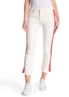 Mother Denim The Dazzler Mid Rise Crop Slim Jeans