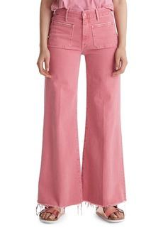 Mother Denim The Patch Pocket Roller Jeans