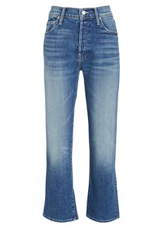 Mother Denim The Scrapper Cuff Ankle Fray Jeans