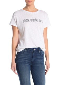 Mother Denim The Sinful Holy Smokes Tee