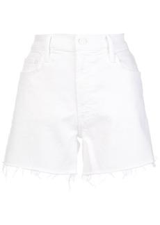 Mother Denim The Sinner frayed shorts