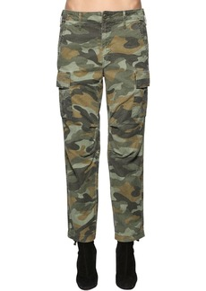 Mother Denim The Sir Yes Sir Cotton & Linen Pants