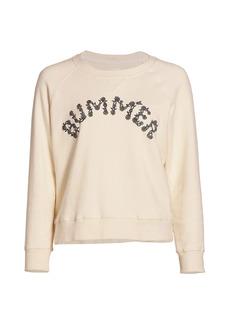 Mother Denim The Square Graphic Sweatshirt
