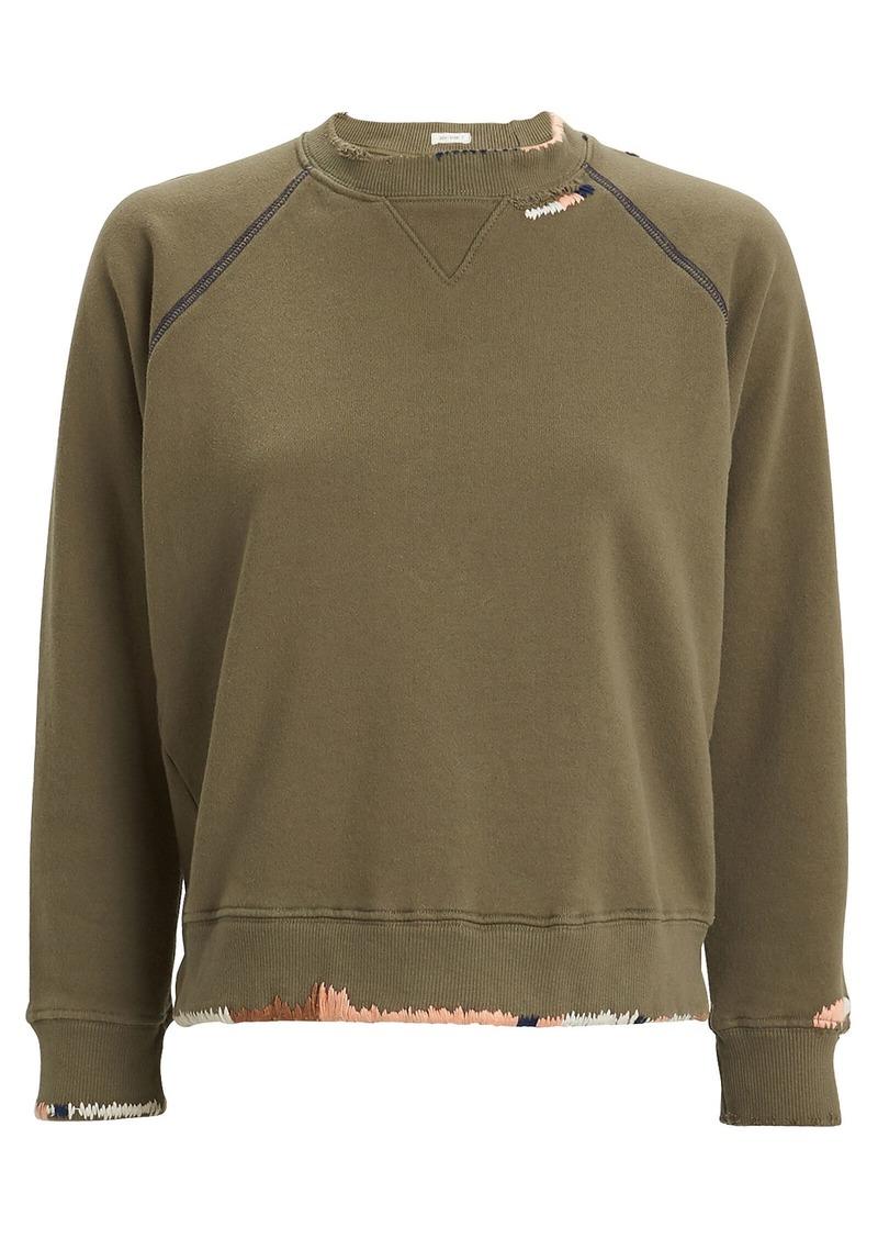Mother Denim The Square Terry Sweatshirt