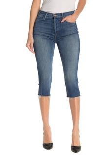 Mother Denim The Stunner Knicker Frayed Cutoff Jeans