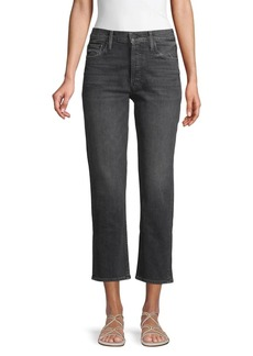 Mother Denim The Tomcat Cropped Straight Jeans
