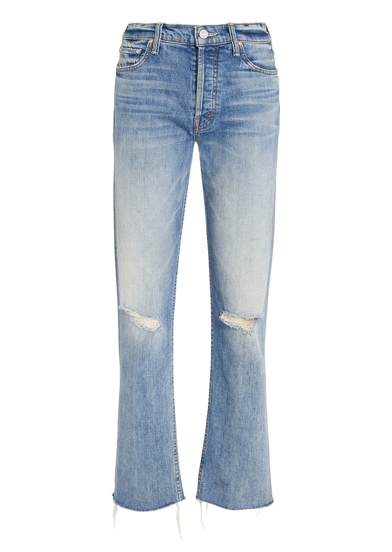 Mother Denim The Tomcat Distressed Jeans