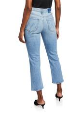Mother Denim The Tomcat Distressed Straight-Leg Jeans