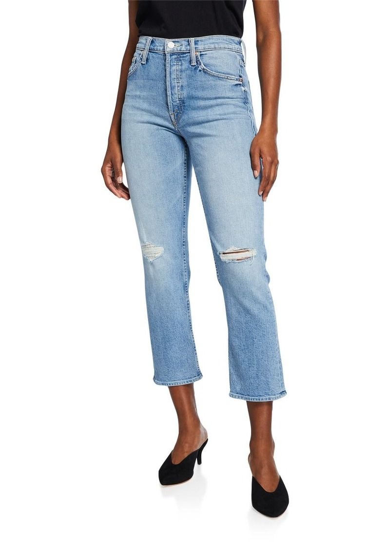 The Tomcat Distressed Straight-Leg Jeans