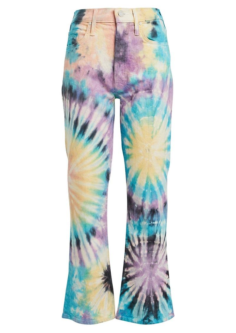 Mother Denim The Tripper Tie-Dye Jeans
