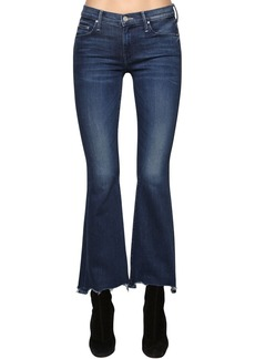 Mother Denim The Weekender Cotton Denim Bootcut Jeans