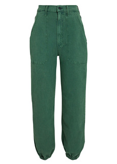 Mother Denim The Wrapper High-Rise Jeans