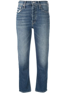 Mother Denim Tomcat cropped jeans