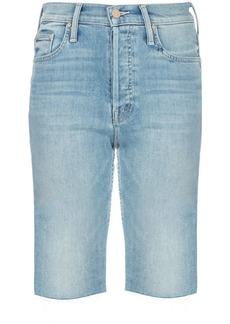 Mother Denim Tomcat skinny denim shorts