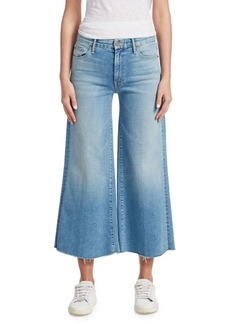 Mother Denim Wide Leg Jeans