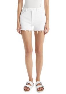 Mother Denim Women's Mother The Dazzler High Waist Cutoff Denim Shorts