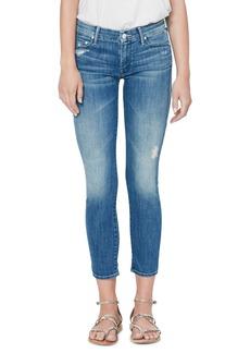 Mother Denim Women's Mother The Looker Crop Skinny Jeans