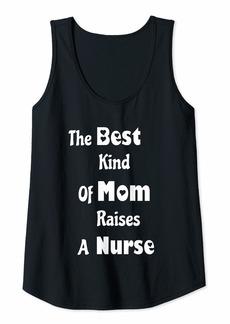 Mother Denim Womens The Best Kind Of Mom Raises A Nurse Tank Top