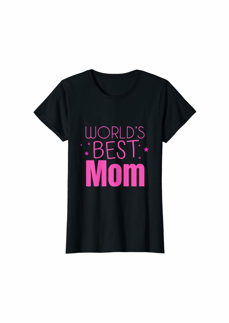 Mother Denim Womens World's Best Mom Mother's Day T-Shirt
