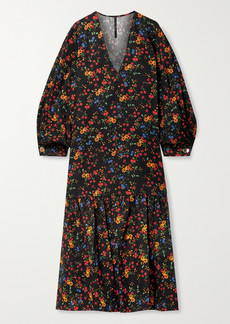 Mother Of Pearl Net Sustain Danica Floral-print Tencel Lyocell-twill Midi Dress