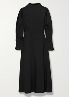 Mother Of Pearl Net Sustain Michelle Tencel Lyocell Midi Dress