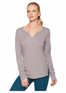 Mountain Hardwear Daisy Chain™ Split Neck Long Sleeve Shirt