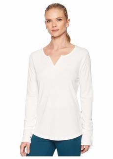 Mountain Hardwear Daisy Chain™ Split Neck Long Sleeve Shirt