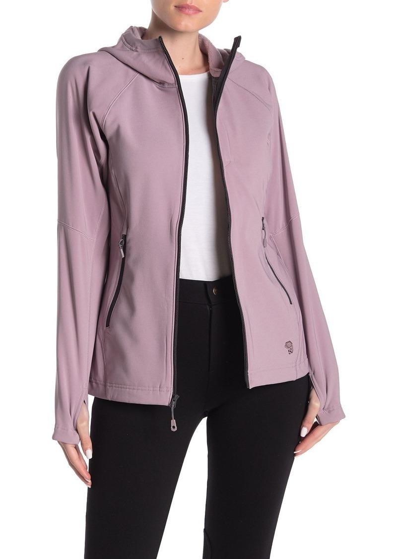 Mountain Hardwear Keele Plush Lined Thumbhole Zip Hoodie Jacket