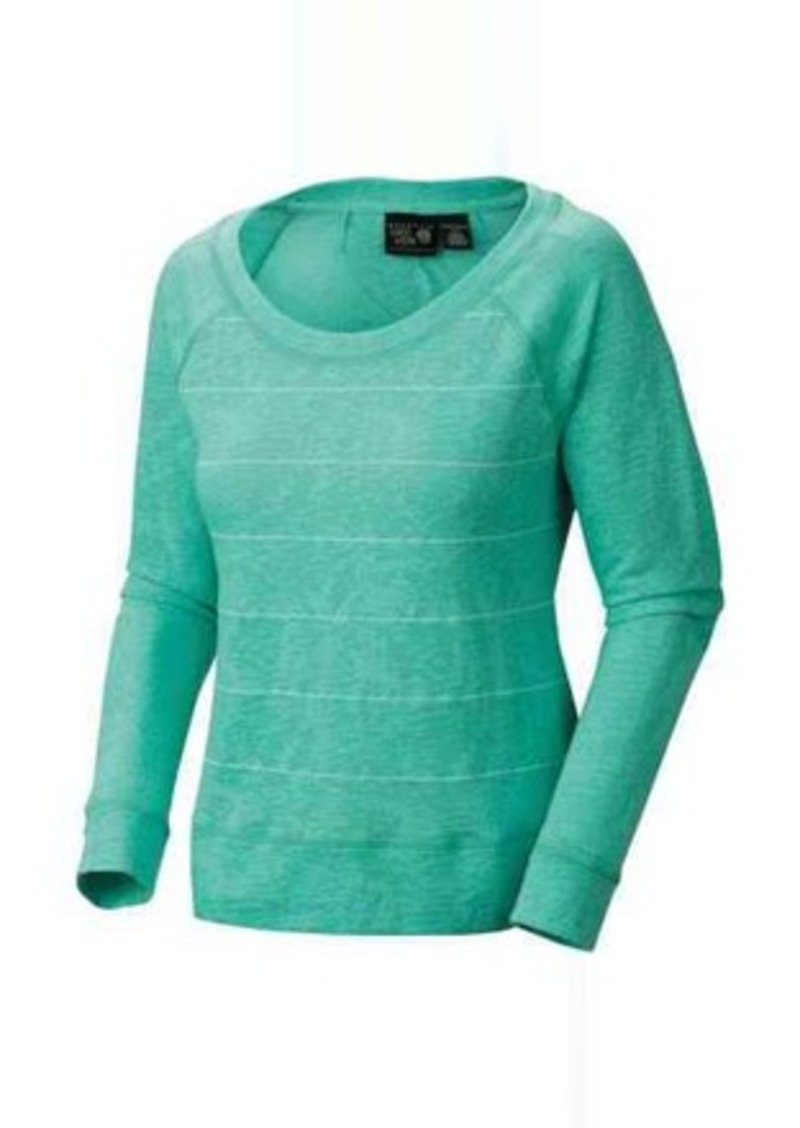 Mountain Hardwear Burnout Stripe Shirt - Loop Terry, Long Sleeve (For Women)