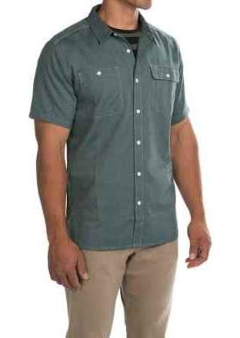 Mountain Hardwear Drummond Utility Shirt - Button Front, Short Sleeve (For Men)