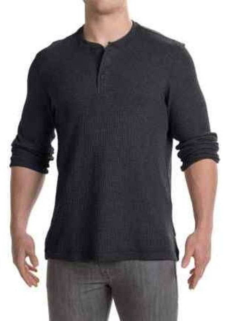 Mountain hardwear mountain hardwear fallon thermal henley for Men s thermal henley long sleeve shirts
