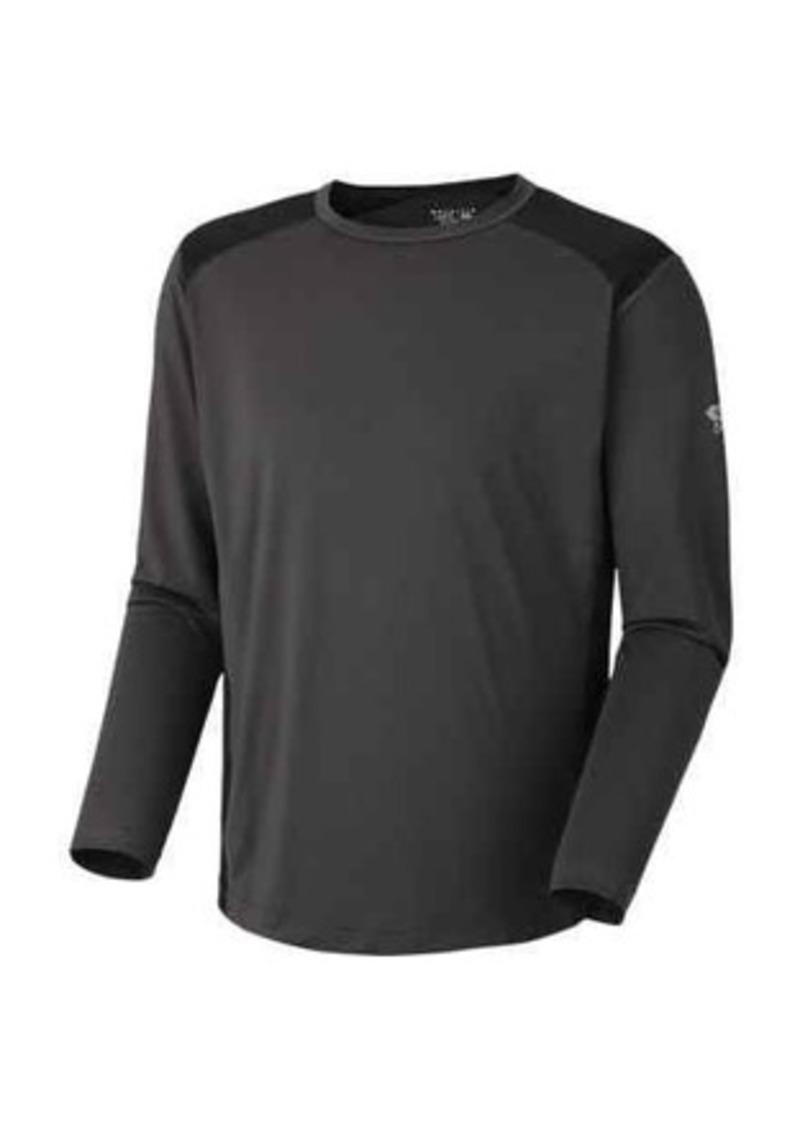 Mountain hardwear mountain hardwear justo trek t shirt for Mountain long sleeve t shirts