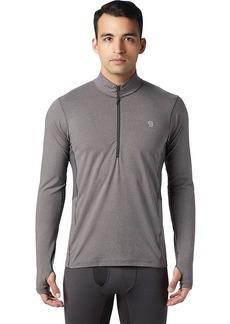 Mountain Hardwear Men's Ghee LS 1/2 Zip Top