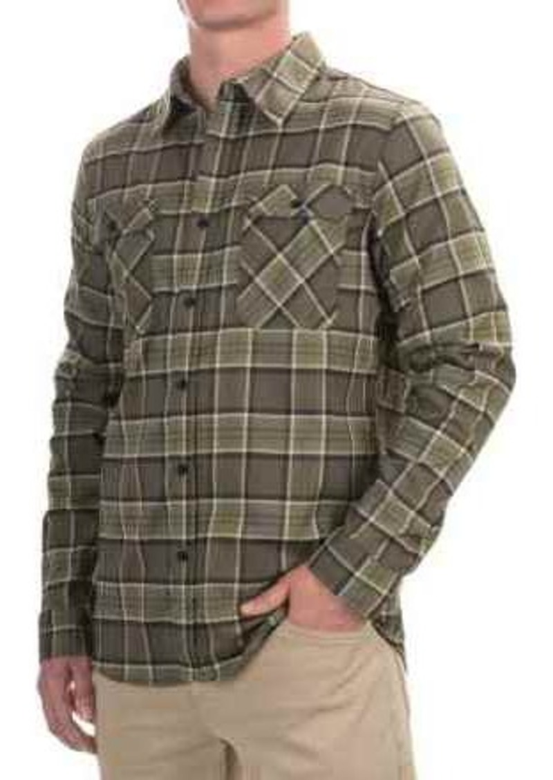 Mountain Hardwear Stretchstone Flannel Shirt - UPF 50, Long Sleeve (For Men)