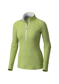 Mountain Hardwear Women's Butterlicious Stripe LS 1/2 Zip Top
