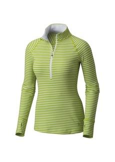 Mountain Hardwear Women's Butterlicious Stripe LS 1/2 Zip Top