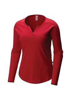 Mountain Hardwear Women's Daisy Chain Split Neck LS Top