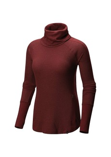 Mountain Hardwear Women's EDP Waffle LS Turtleneck Top