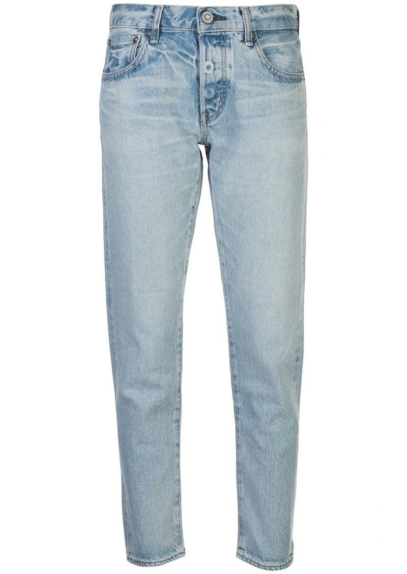 Moussy Camilla mid-rise tapered jeans