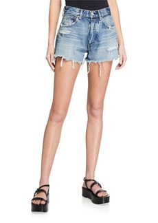 Moussy Chester Distressed Shorts