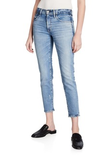 Moussy Edmond Medium-Wash Skinny Jeans