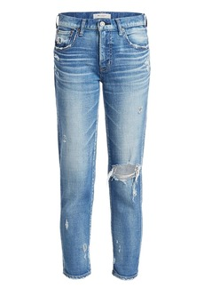Moussy Helendale Mid-Rise Skinny Jeans