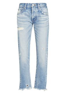 Moussy Kelley Tapered Mid-Rise Jeans