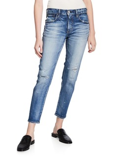 Moussy Lancaster Distressed Skinny Jeans