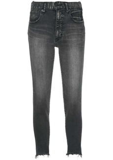 Moussy low-waist skinny jeans