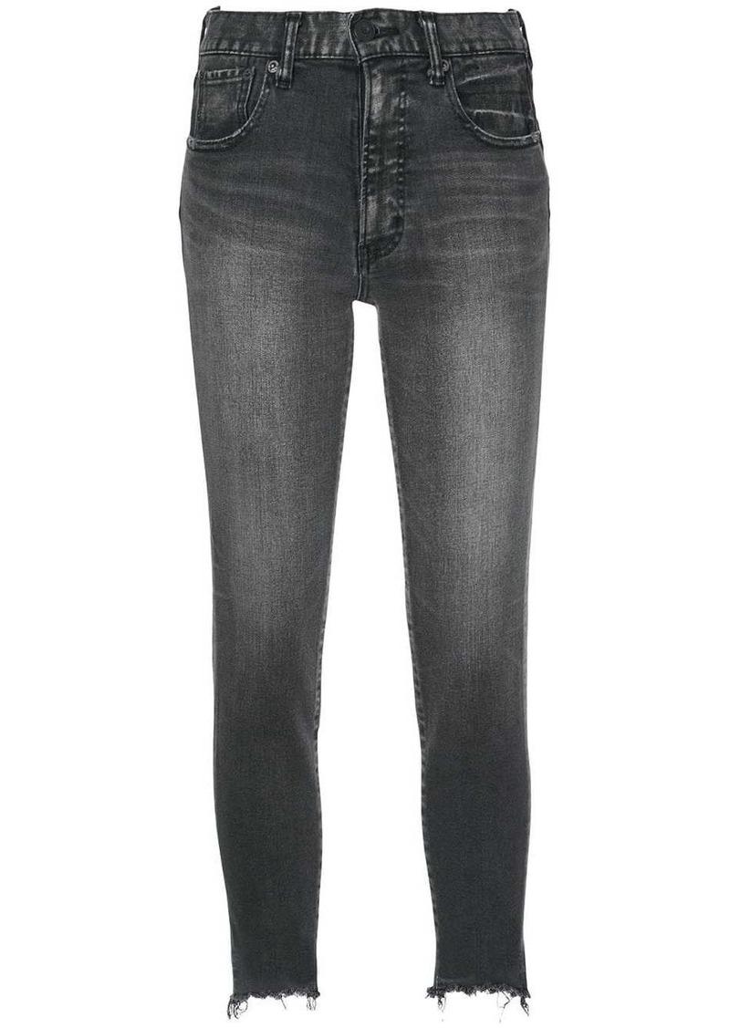 Moussy low-waist skinny jeans
