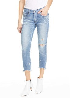 MOUSSY Vintage Glendale Distressed Crop Skinny Jeans